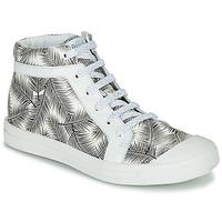 Schoenen Meisjes Hoge sneakers GBB NAVETTE Zwart / Wit