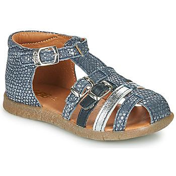 Schoenen Meisjes Sandalen / Open schoenen GBB PERLE Blauw