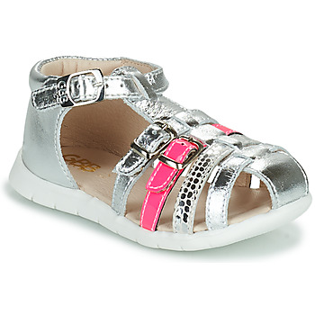 Schoenen Meisjes Sandalen / Open schoenen GBB PERLE Zilver