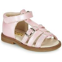 Schoenen Meisjes Sandalen / Open schoenen GBB ANTIGA Roze