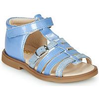 Schoenen Meisjes Sandalen / Open schoenen GBB ANTIGA Blauw