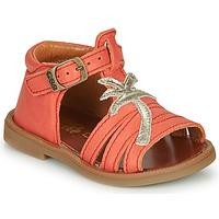 Schoenen Meisjes Sandalen / Open schoenen GBB ARAGA Koraal