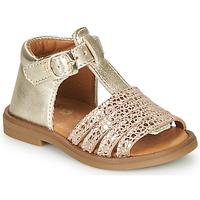 Schoenen Meisjes Sandalen / Open schoenen GBB ATECA Goud