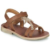 Schoenen Meisjes Sandalen / Open schoenen GBB SAPELA Bruin