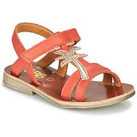 Schoenen Meisjes Sandalen / Open schoenen GBB SAPELA Koraal