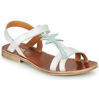 Schoenen Meisjes Sandalen / Open schoenen GBB SAPELA Wit