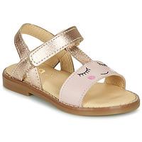 Schoenen Meisjes Sandalen / Open schoenen GBB NAZETTE Roze