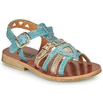 Schoenen Meisjes Sandalen / Open schoenen GBB FANNI Blauw
