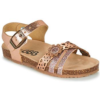 Schoenen Meisjes Sandalen / Open schoenen GBB PANORA Roze / Goud