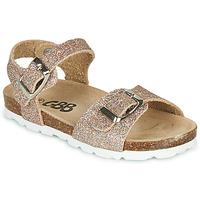 Schoenen Meisjes Sandalen / Open schoenen GBB PIPPA Roze / Goud