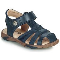 Schoenen Jongens Sandalen / Open schoenen GBB LUCA Blauw