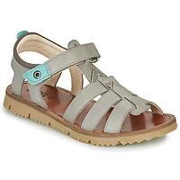 Schoenen Jongens Sandalen / Open schoenen GBB PATHE Grijs / Blauw