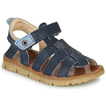 Schoenen Jongens Sandalen / Open schoenen GBB PATHE Blauw