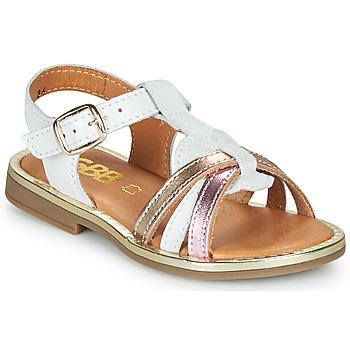 Schoenen Meisjes Sandalen / Open schoenen GBB EGEA Wit