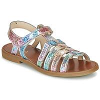 Schoenen Meisjes Sandalen / Open schoenen GBB KATAGAMI Roze / Multicolour