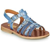 Schoenen Meisjes Sandalen / Open schoenen GBB BANGKOK Blauw