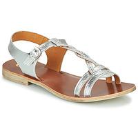 Schoenen Meisjes Sandalen / Open schoenen GBB EUGENA Zilver