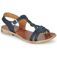 Schoenen Meisjes Sandalen / Open schoenen GBB EUGENA Blauw