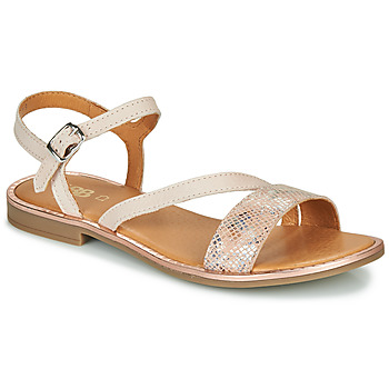 Schoenen Meisjes Sandalen / Open schoenen GBB FANA Beige / Roze