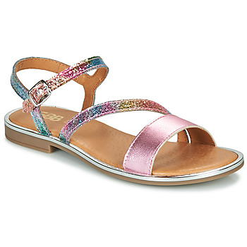 Schoenen Meisjes Sandalen / Open schoenen GBB FANA Roze / Multicolour