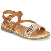 Schoenen Meisjes Sandalen / Open schoenen GBB FANA Cognac