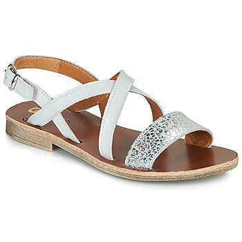 Schoenen Meisjes Sandalen / Open schoenen GBB FAVOLA Wit