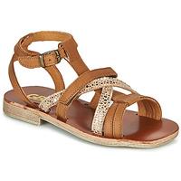 Schoenen Meisjes Sandalen / Open schoenen GBB JULIA Bruin