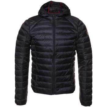 Textiel Heren Dons gevoerde jassen JOTT Nico manche longue  capuche Blauw