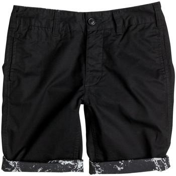 Textiel Kinderen Korte broeken / Bermuda's DC Shoes Beadnell by 18 b Zwart