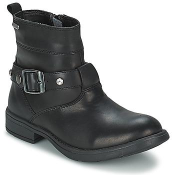 Schoenen Meisjes Hoge laarzen Geox SOFIA B Zwart