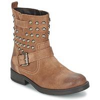 Schoenen Meisjes Hoge laarzen Geox SOFIA C Bruin