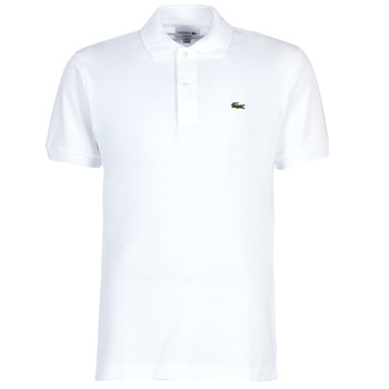 Textiel Heren Polo's korte mouwen Lacoste POLO L12 12 REGULAR Wit