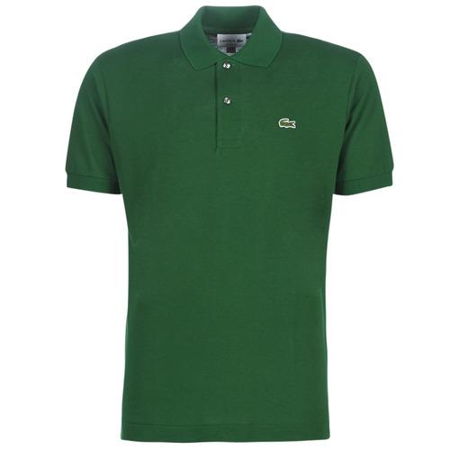Textiel Heren Polo's korte mouwen Lacoste POLO L12 12 REGULAR Groen