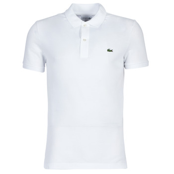 Textiel Heren Polo's korte mouwen Lacoste PH4012 SLIM Wit