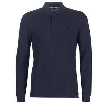 Textiel Heren Polo's lange mouwen Lacoste PH2481 REGULAR Marine
