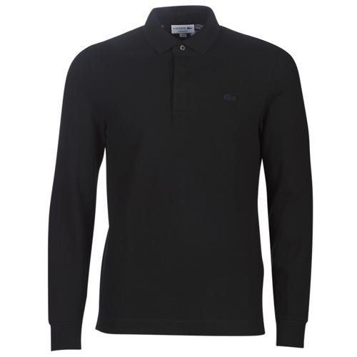 Textiel Heren Polo's lange mouwen Lacoste PH2481 REGULAR Zwart