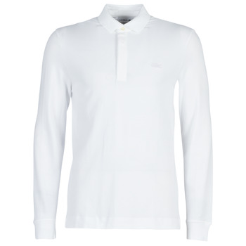 Textiel Heren Polo's lange mouwen Lacoste PH2481 REGULAR Wit
