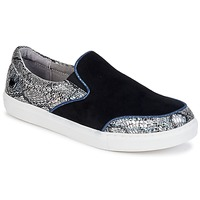 Schoenen Dames Instappers Lollipops VOLTAGE SLIP ON Zwart