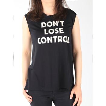 Textiel Dames Mouwloze tops Lee T-shirt  Muscle Tank Black L42CPB01 black