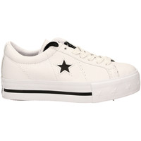 Schoenen Dames Lage sneakers All Star ONE STAR PLATFORM OX whibl-bianco-nero