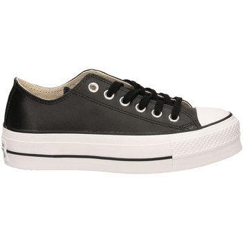 Schoenen Dames Lage sneakers All Star CTAS LIFT CLEAN OX blawh-nero-bianco
