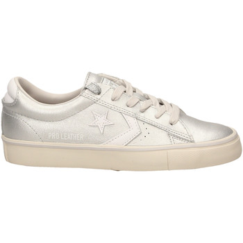 Schoenen Dames Lage sneakers All Star PRO LEATHER VULC OX silwh-argento-bianco