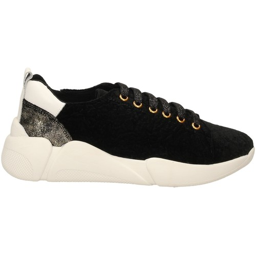 Schoenen Dames Lage sneakers Colors of California SNEAKER WITH LACES black-nero