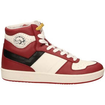 Schoenen Heren Hoge sneakers Pony CITY WINGS 284 clreb-rosso-bianco