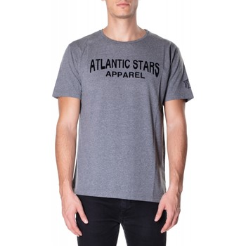 Textiel Heren T-shirts korte mouwen Atlantic Star Apparel T-SHIRT col-2-grigio-chiaro