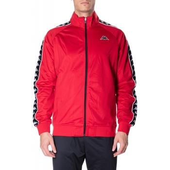 Textiel Heren Sweaters / Sweatshirts Kappa BANDA ANNISTON SLIM c52-nero-rosso
