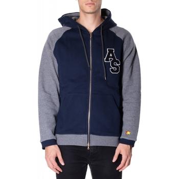 Textiel Heren Sweaters / Sweatshirts Atlantic Star Apparel FELPA col-2-blu-grigio