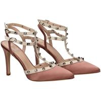 Schoenen Dames Sandalen / Open schoenen Mivida RASO E NAPPA milk-rosa-bianco