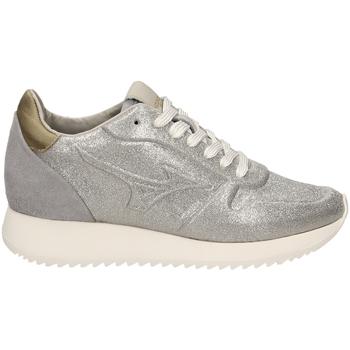 Schoenen Dames Lage sneakers Mizuno SAIPH 2 GLITTER WOS silgr-verde-argento