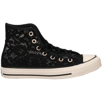 Schoenen Dames Hoge sneakers All Star CTAS HI blawh-nero-bianco